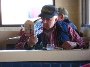 Man Reading Romance